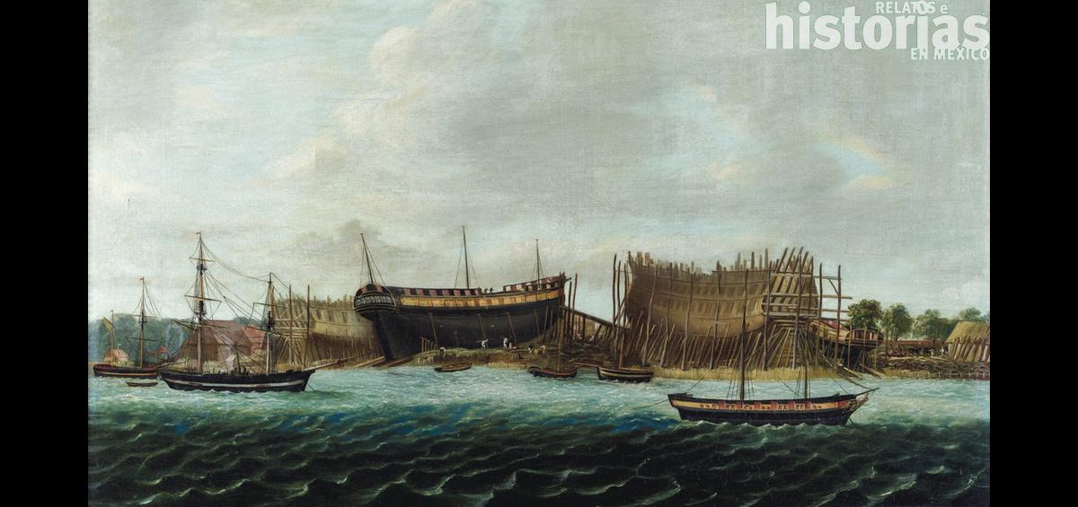 """El hundimiento del """"Santísima Trinidad"""", símbolo del fin del dominio marítimo español"""