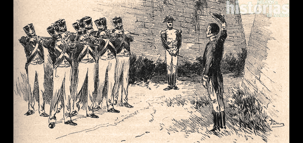 Xavier Mina se reúne con Simón Bolívar en Haití
