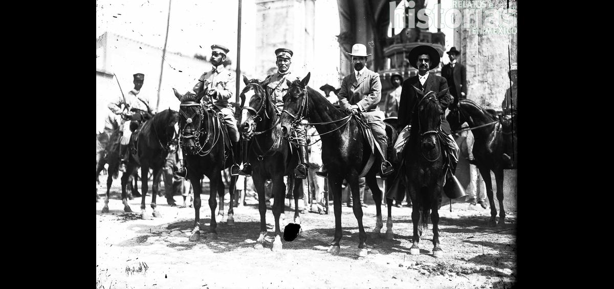 Huerta en la defensa del gobierno de Madero