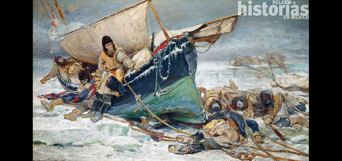 Perdidos en el hielo