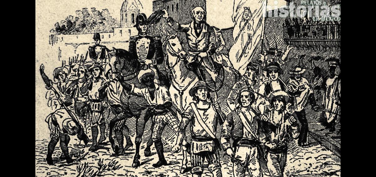 Las tropas de Miguel Hidalgo ocupan Guadalajara