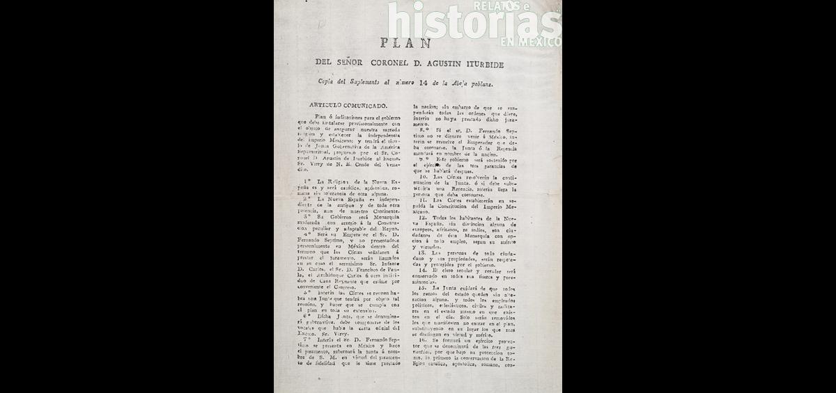 La importancia del Plan de Iguala para la historia política de México