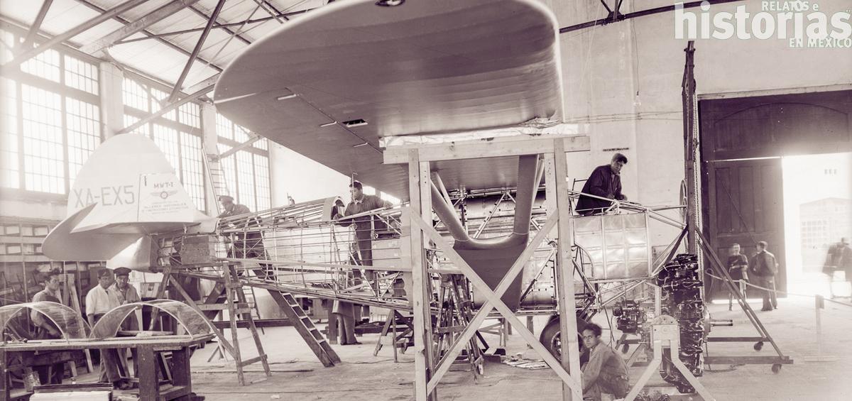 Villasana y los primeros aeroplanos mexicanos