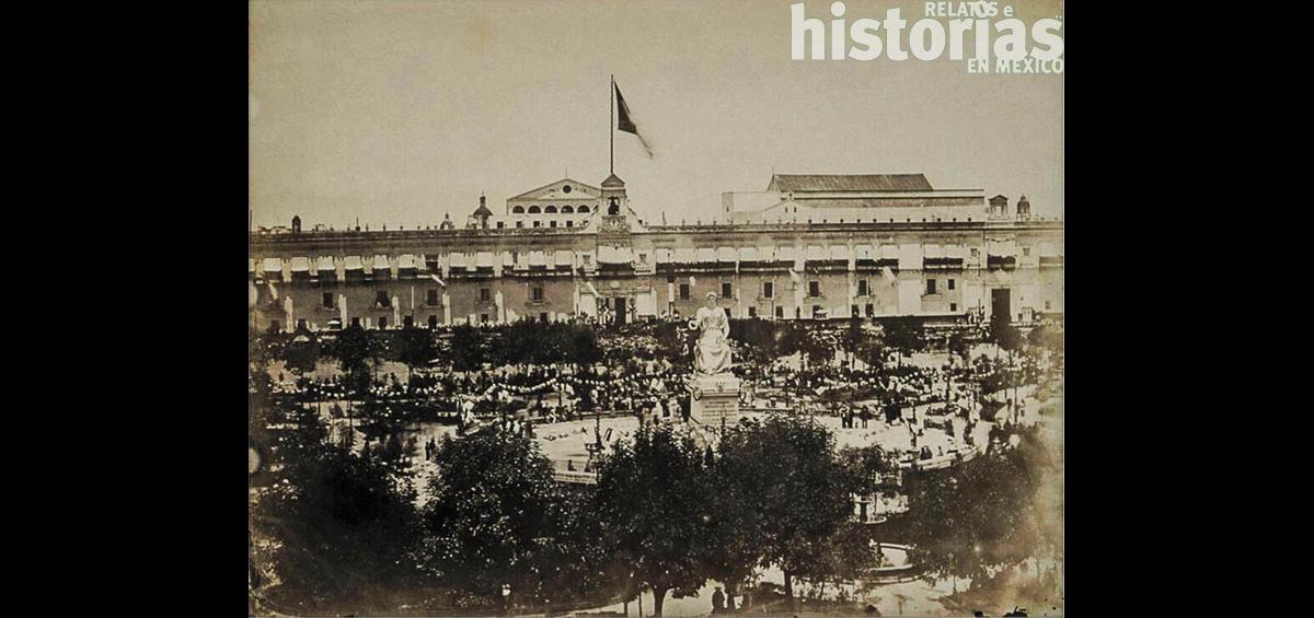 """Recuerdos del Zócalo: """"El triunfo de la República en 1867: un acontecimiento que captó la atención del mundo"""""""