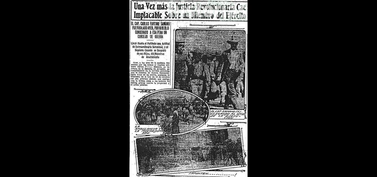 El capitán carrancista Fortino Sámano y su cita con la muerte