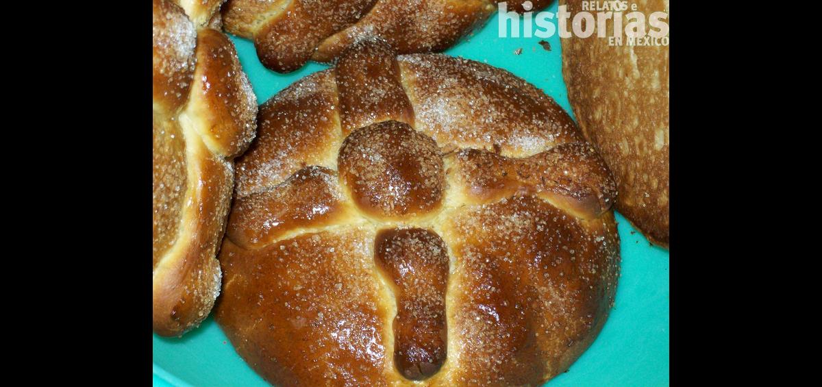 Pan de muerto, banquete mortuorio