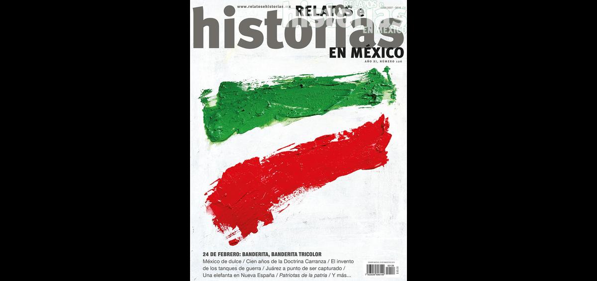 126. Banderas mexicanas. Un paseo por sus historias
