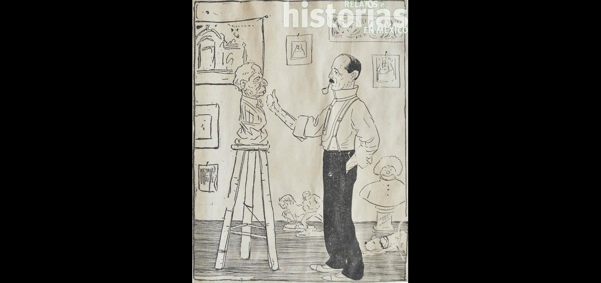 Casi en el olvido el gran caricaturista Mariano Martínez Vizuet