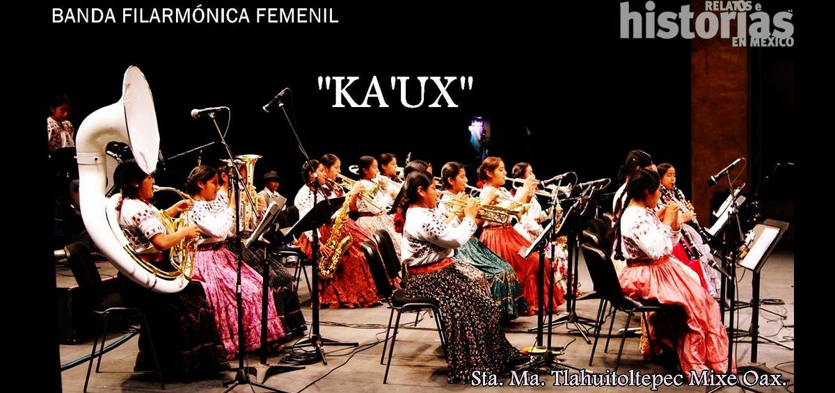 ¿Conocen las filarmónicas mixes de Santa María Tlahuitoltepec, Oaxaca?