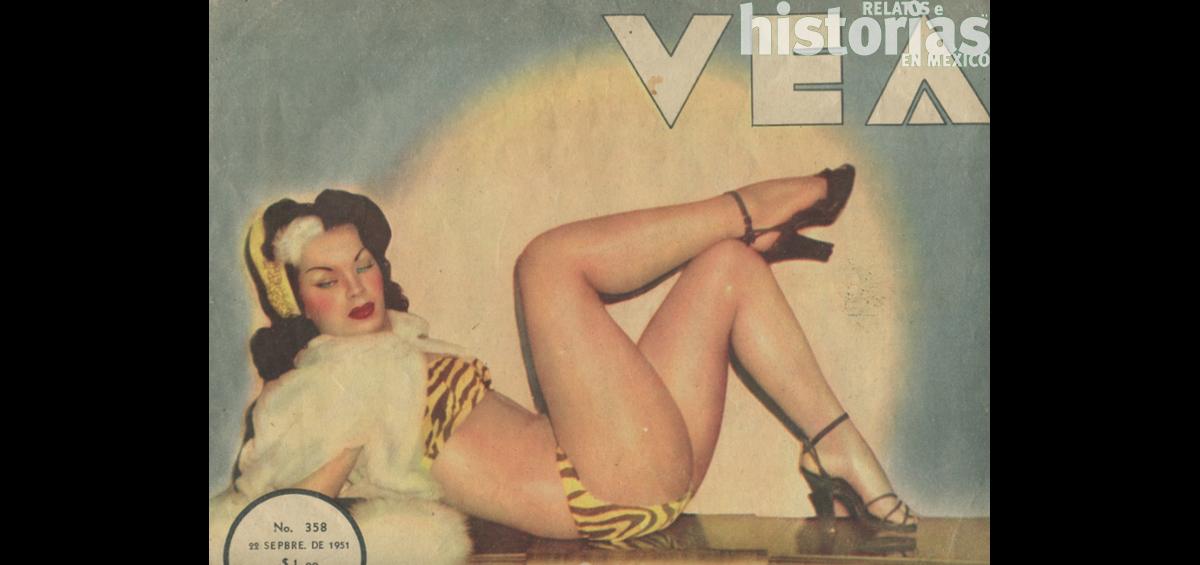 ¿Sabían que en 1955 se quemaron revistas de desnudos en el zócalo?