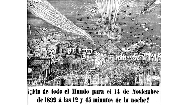 La terrible noticia del fin del mundo